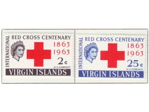 1963 Red Cross Virgin isl