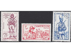 Cameroun 0172 0174