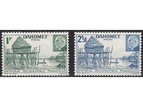 Dahomey 0154 0155