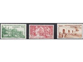 Dahomey 0156 0158