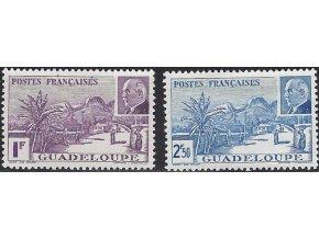 Guadeloupe 0166 0167