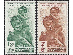 Wallis et Futuna 0135 0136