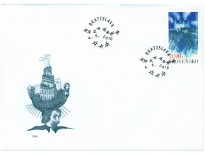 SR 2010 / 474 / EUROPA - Detské knihy / FDC