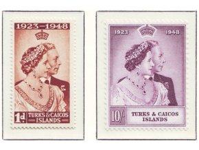 Turks a Caicos isl 0134 0135