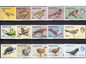 Mauritius 0268 0282
