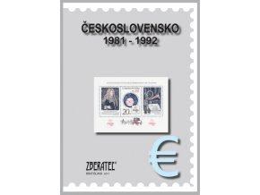 Katalog znamky CSR II 1981 1992
