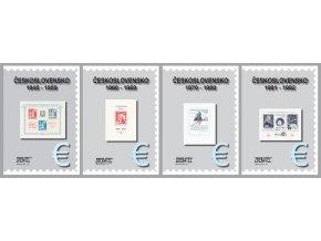 Katalog znamky CSSR komplet