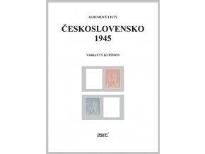 Albumové listy Československo 1945 II