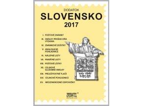 Katalog znamky SR 2017