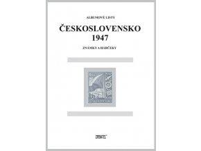 Albumové listy Československo 1947 I
