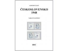 Albumové listy Československo 1948 II