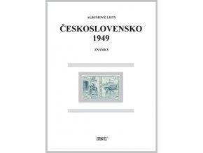 Albumové listy Československo 1949 I