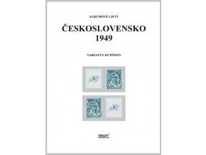 Albumové listy Československo 1949 II