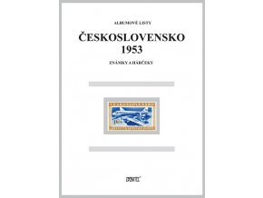 Albumové listy Československo 1953