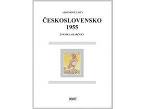 Albumové listy Československo 1955 I