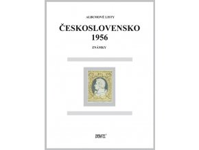 Albumové listy Československo 1956