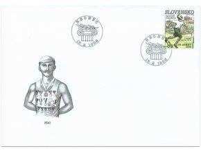 SR 1996 / 084 100 rokov OH - Alojz Szokol FDC