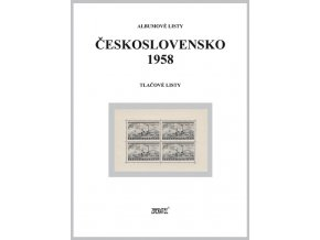 Albumové listy Československo 1958 II
