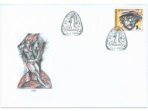 SR 1996 / 085-086 / Osobnosti FDC (2)