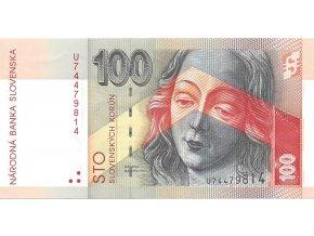 SR bankovky 100 U+