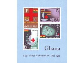 Ghana 0145 0148 Bl 8