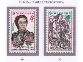 SR 1996 / 089-090 / EUROPA - slávne ženy
