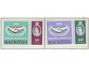 Mauritius 0285 0286
