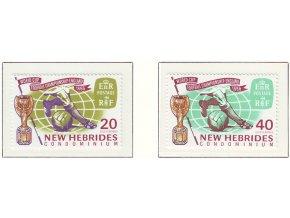 New Hebrides 0232 0233