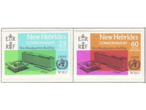 New Hebrides 0244 0245