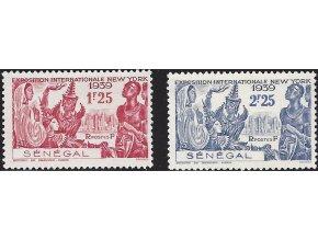 Senegal 0184 0185
