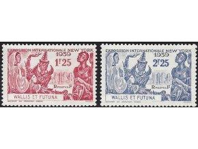 Wallis et Futuna 0080 0081