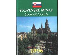 Mince SR 1996 / Sada obehových mincí Sk