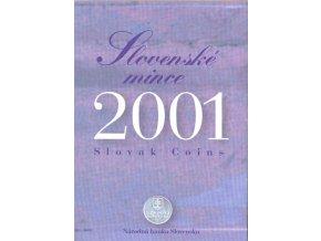 Mince SR 2001 / Sada obehových mincí Sk