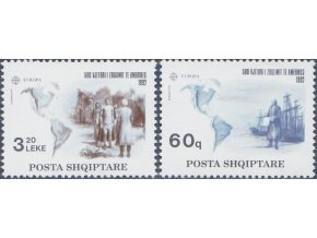 Albánsko 2510 2511