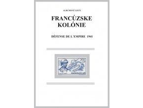Albumové listy Franc kol 1941 Défense de ľ empire