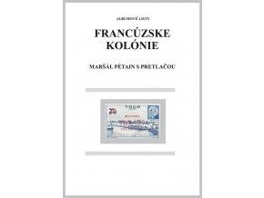 Albumové listy Franc kol 1944 Maršál Pétain s pretlačou