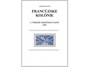 Albumové listy Franc kol 1946 1. výročie ukončenia II. sv. vojny