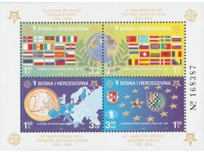 Bosna a Hercegovina 0419 0422 Bl 27 A