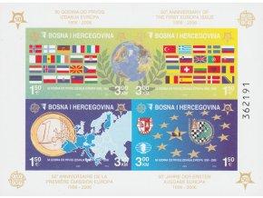 Bosna a Hercegovina 0419 0422 Bl 27 B