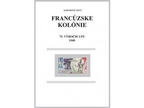 Albumové listy Franc kol 1949 75. výročie UPU