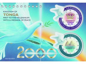 Tonga 1566 1567 Bl 35