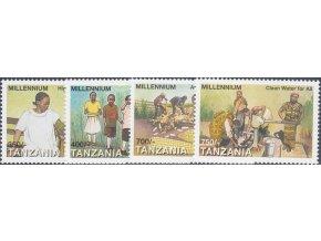 Tanzánia 3413 3416