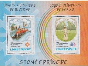 St Tome e Principe 0876 Bl 142