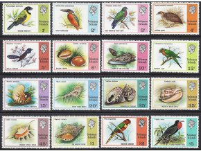 Solomon Islands 303 317+330