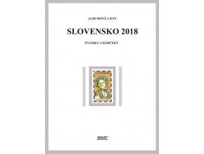 Albumové listy SR 2018 I