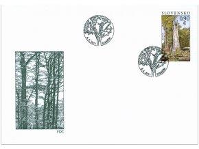 SR 2011 / 497 / EUROPA - Lesy, Národný park Poloniny FDC