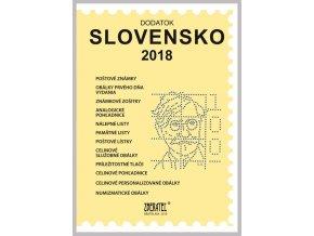 Katalog znamky SR 2018
