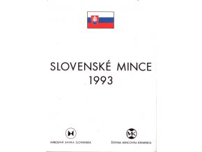 Mince SR 1993 / Sada obehových mincí Sk