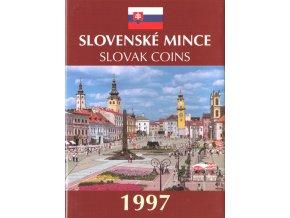 Mince SR 1997 / Sada obehových mincí Sk