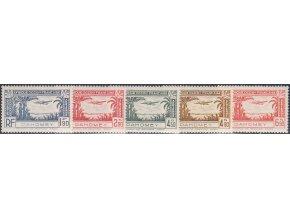 Dahomey 0120 0124